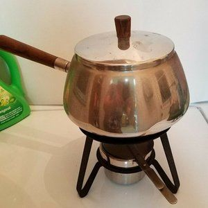 Mid Century Fondue Party Pot